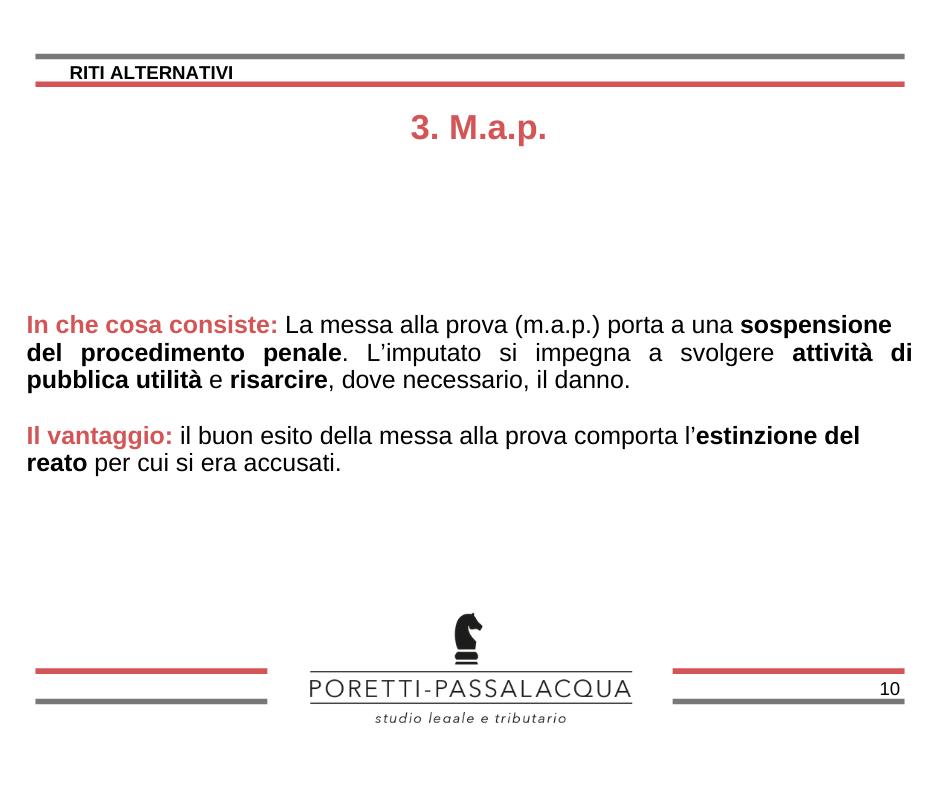 messa alla prova map avvocati milano