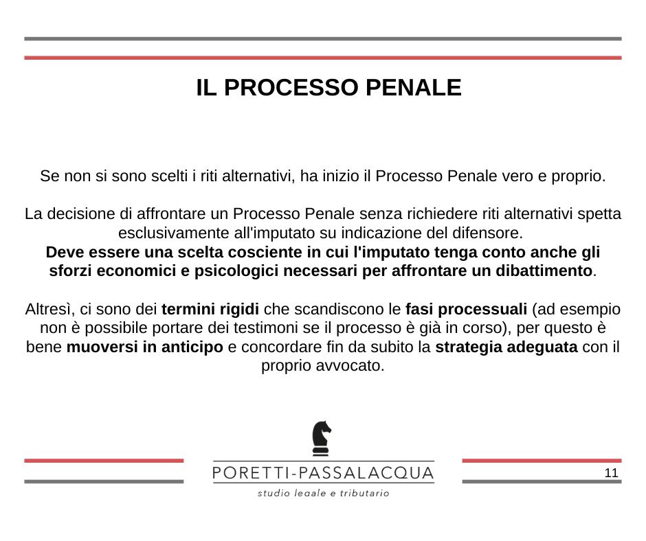 processo penale avvocato milano